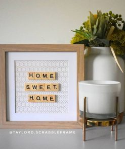 Taylor D Scrabble Frames Personalised Home Decor